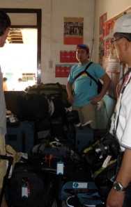 WSF luggages of donated supplies safely arrives 24 hours later